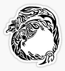 Charizard Tribal Sticker