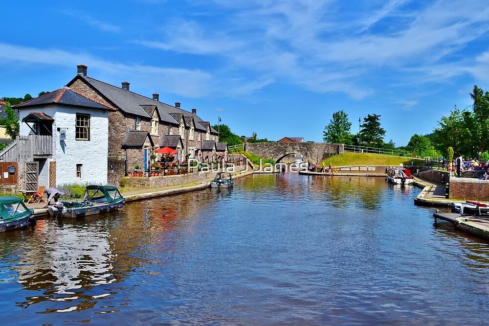 Brecon Canal Basin by Paula J James