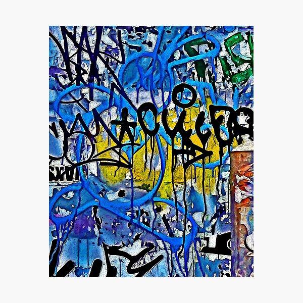 Graffiti #55 Photographic Print
