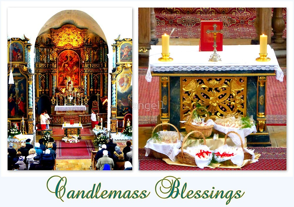 Candlemass Blessings by ©The Creative  Minds