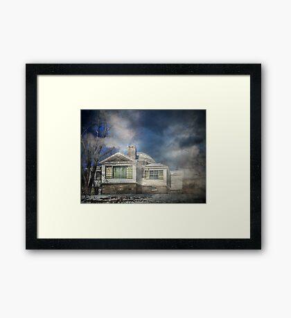 Loomis Sanitarium Library Framed Print