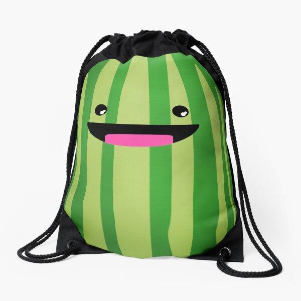 HAPPY LIL MELON Drawstring Bag
