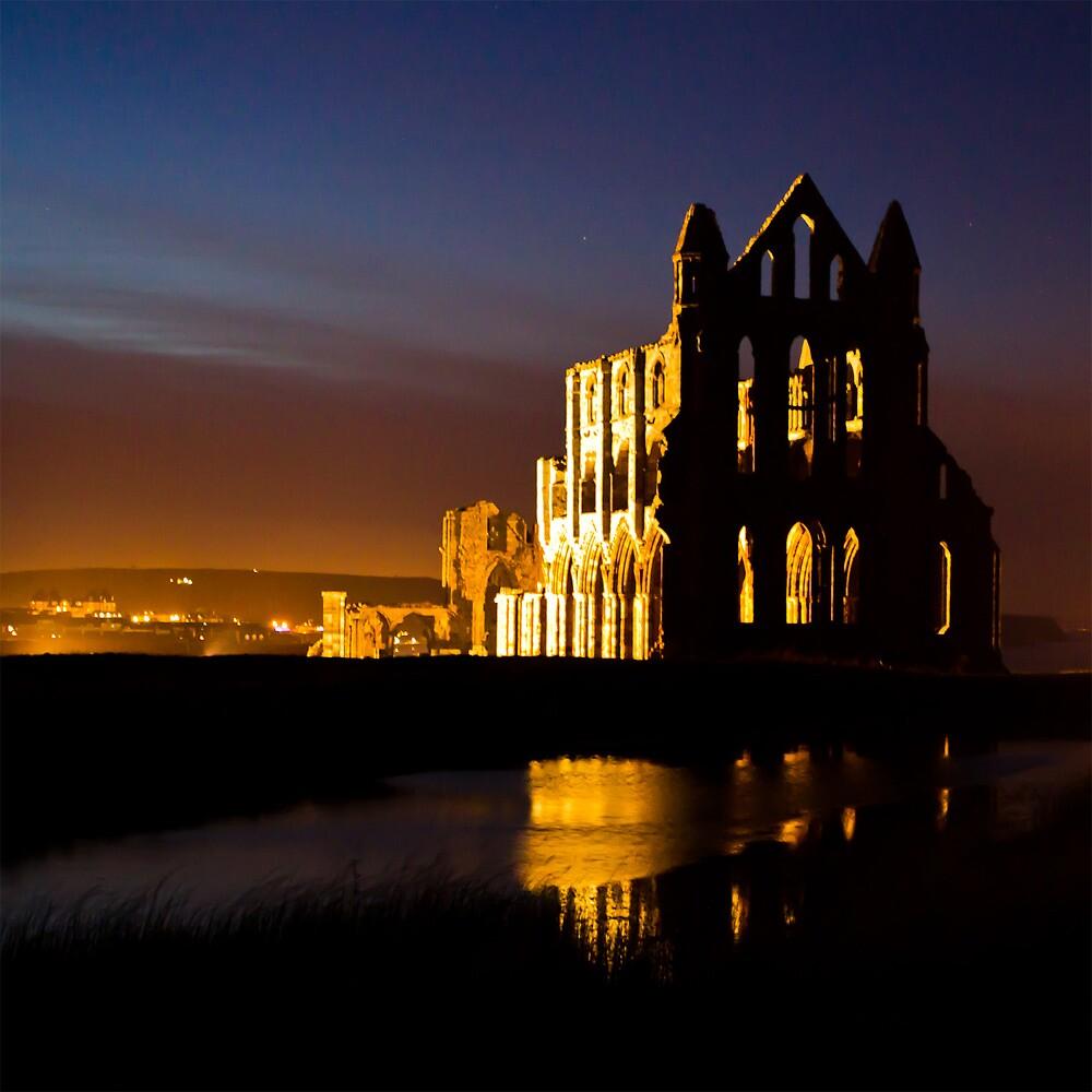 Whitby Abbey by Ken  Yan