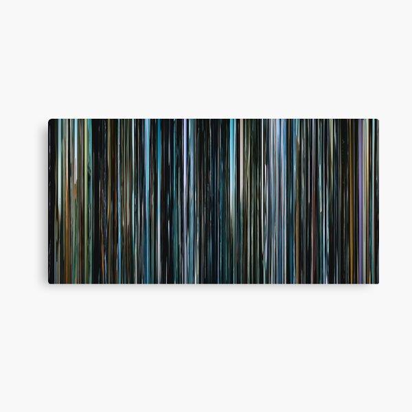 Interstellar (2014) (100 bars) Canvas Print