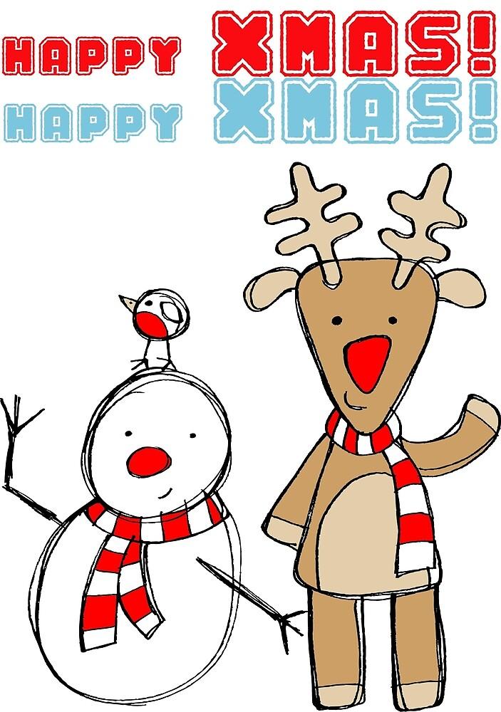 Happy xmas! by Eledeya