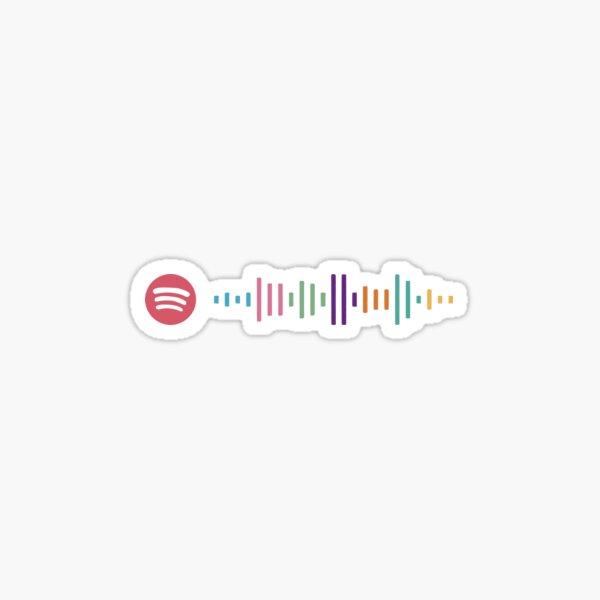 Código de Spotify de BTS Dynamite Pegatina
