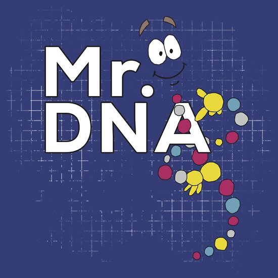 TShirtGifter presents: Mr. DNA | Unisex T-Shirt