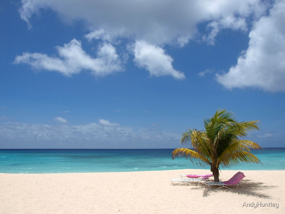 Barbados Beach View by AndyHuntley