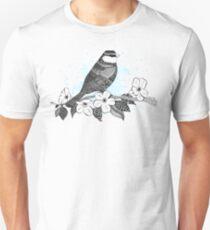 Bird on cherry blossoms T-Shirt