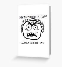 Mother In-Law Greeting Card