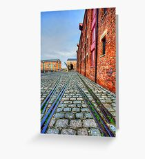 Gloucester Docks Greeting Card