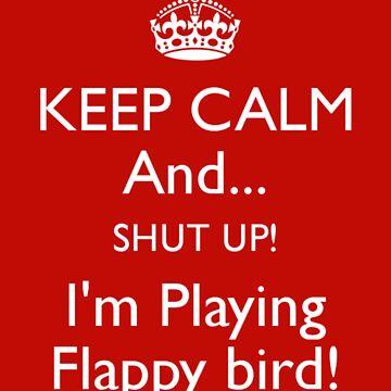 Flappy Bird red by irishalien
