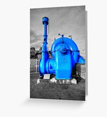 Centrifugal Water Pump Greeting Card