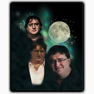 3 Moons of GabeN by GabeNewell