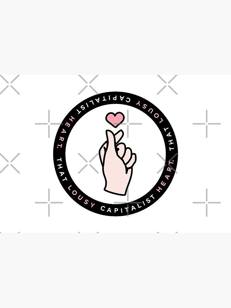[CRASH LANDING ON YOU] Korean Finger Heart   That Lousy Capitalist Heart   Inspired by Crash Landing on You   Yoon Se Ri   Hyun Bin by AREUMDOWNTOWN