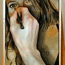 Drawing Anna by Martin Kirkwood