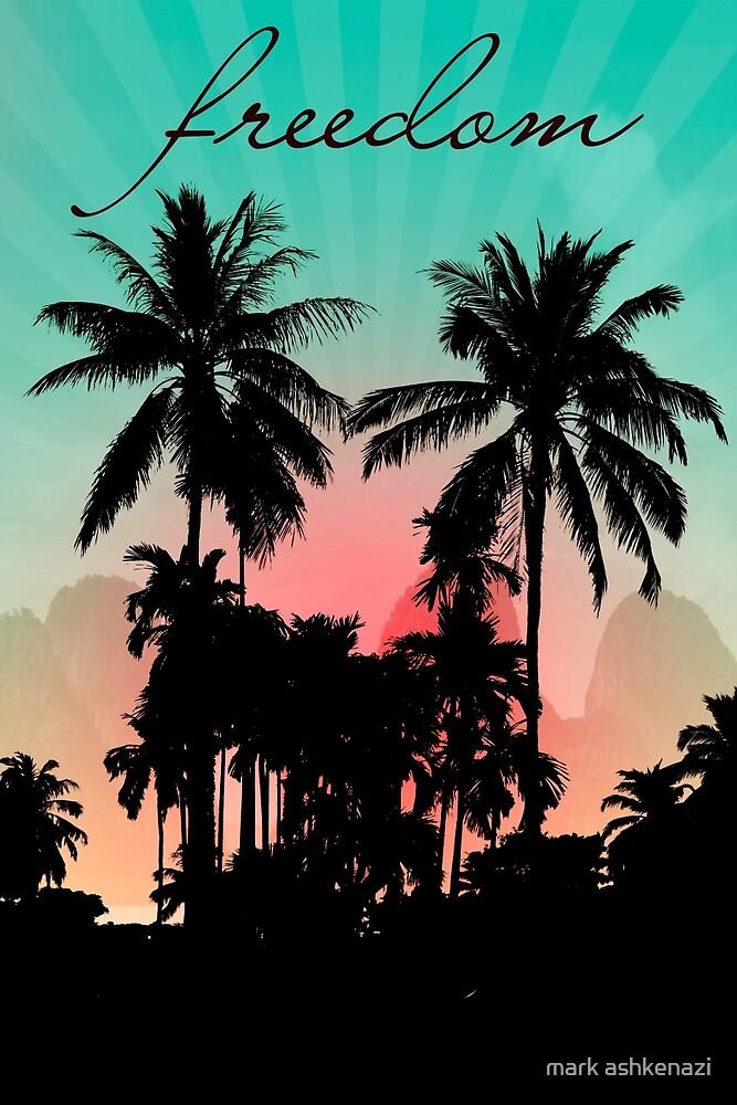 Palm Trees by mark ashkenazi