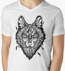 Clasic Wolf Paint! Mens V-Neck T-Shirt