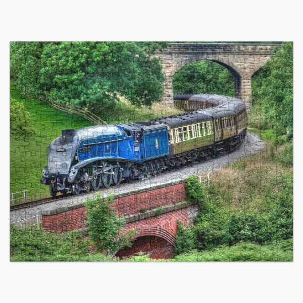 60007 Sir Nigel Gresley Locomotive Jigsaw Puzzle