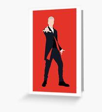12th Doctor Peter Capaldi Greeting Card