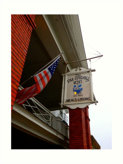 Historic NuWray Inn, Burnsville, NC by Marielle Valenzuela
