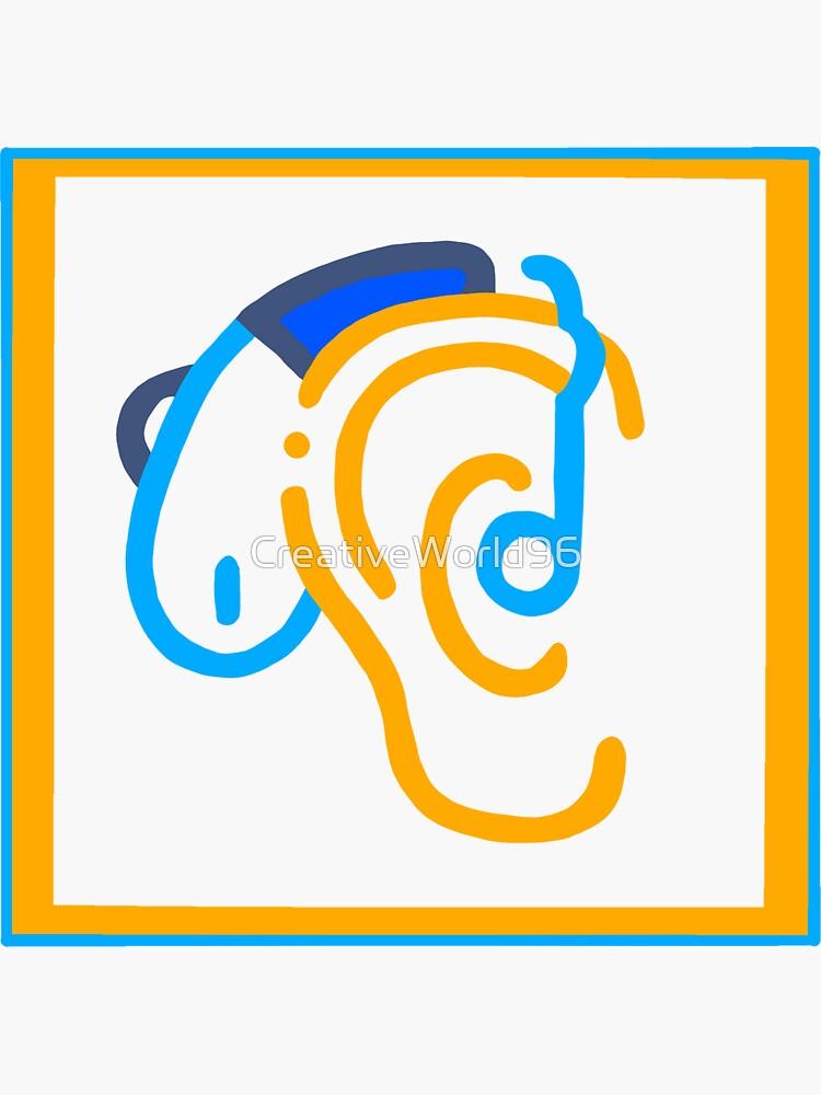 hard of hearing by CreativeWorld96