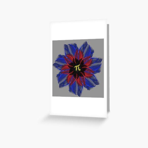Polyamorous flower Greeting Card