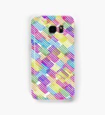 Scratchy Rainbow Samsung Galaxy Case/Skin