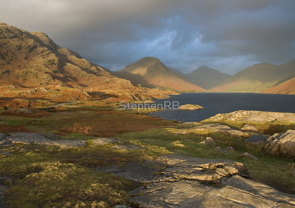 Wastwater in winter light by StephenRB