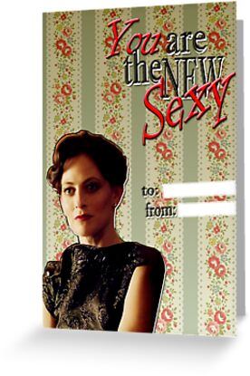 Irene Adler Valentine's Day Card - The New Sexy II by thescudders
