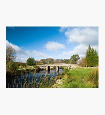 Postbridge Clapper Bridge Photographic Print