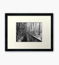 Winter Reise Framed Print