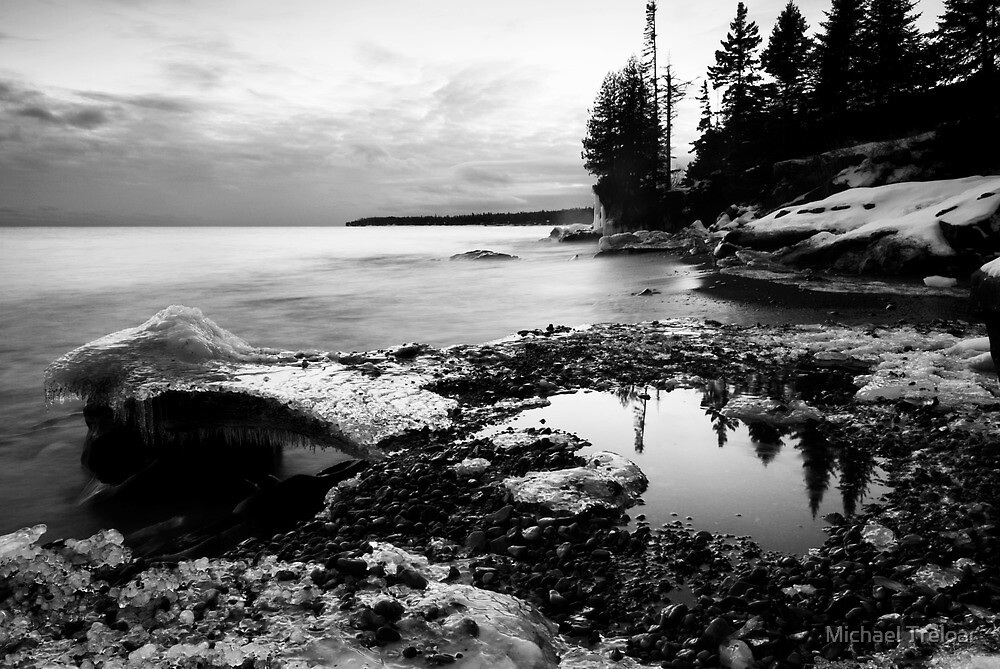 Thirty Seconds of Calm, Lake Superior by Michael Treloar