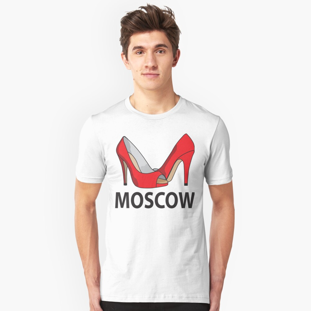 Moscow fashion  Unisex T-Shirt Front