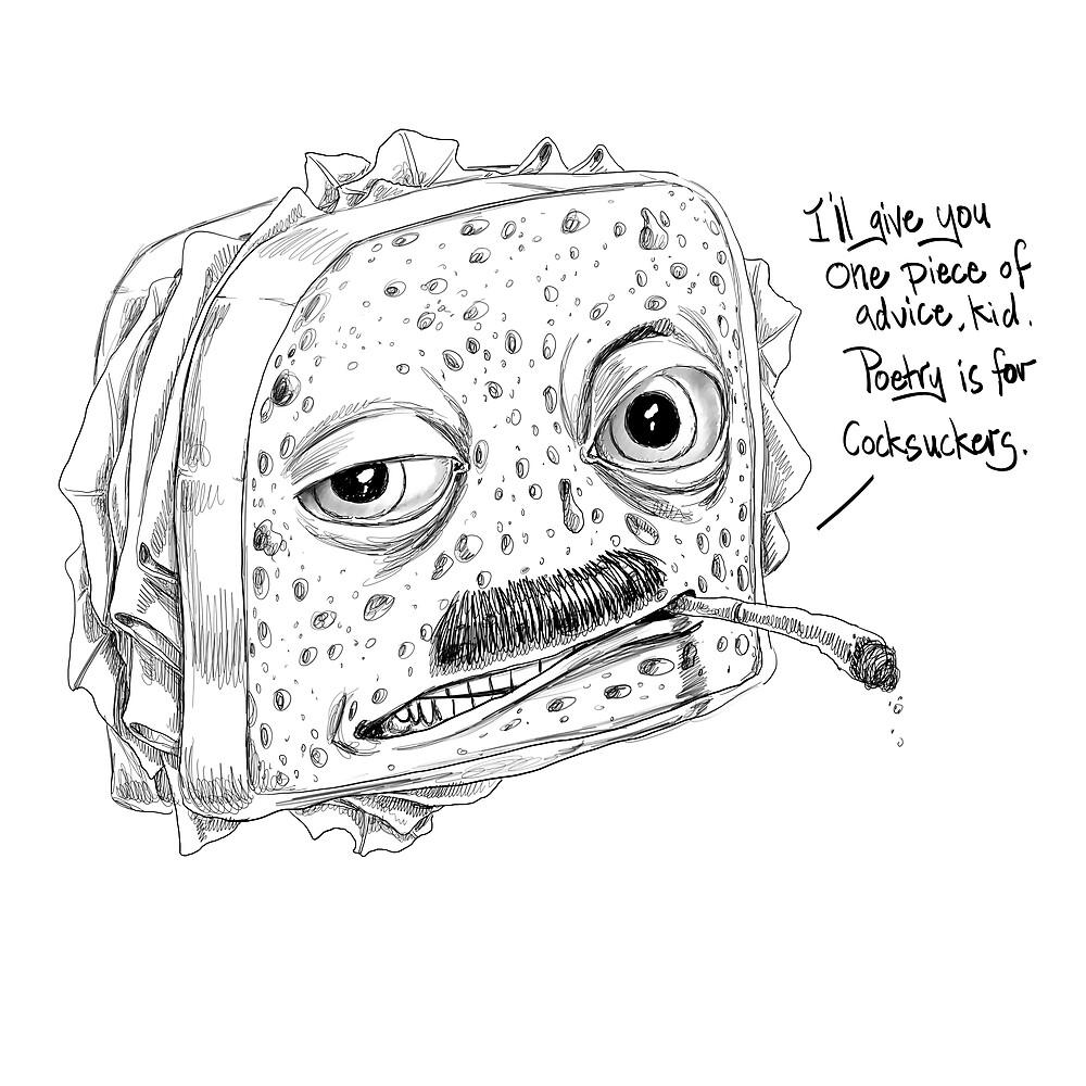 Ham On Rye by JamesAgpalza