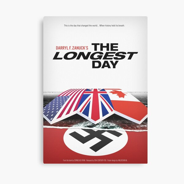 The Longest Day Movie Poster Canvas Print
