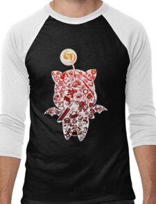 Final Fantasy Moogle-verse (red) Men's Baseball ¾ T-Shirt