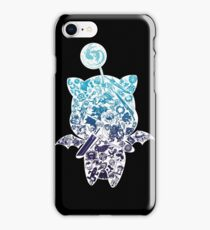 Moogle-verse (blue) iPhone Case/Skin