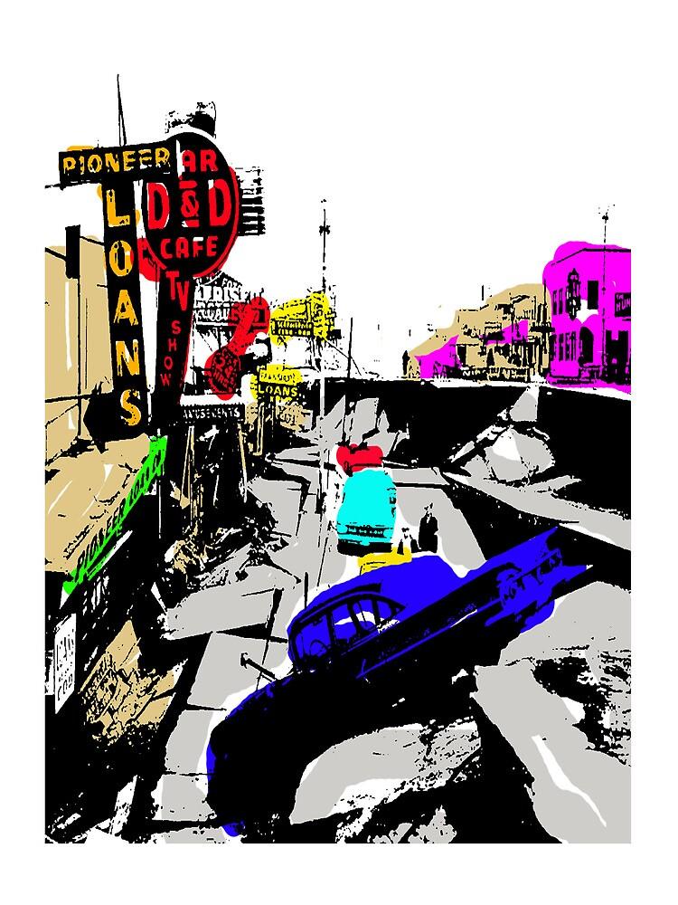 4TH AVENUE 64 QUAKE POP ART by Ed Rosek