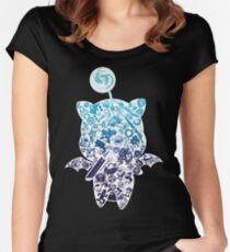 Moogle-verse (blue) Women's Fitted Scoop T-Shirt