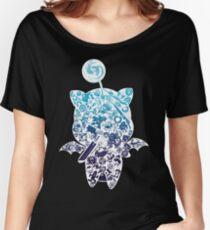 Moogle-verse (blue) Women's Relaxed Fit T-Shirt