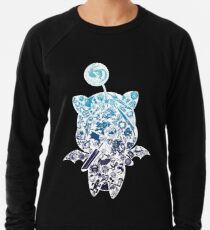 Moogle-verse (blue) Leichter Pullover