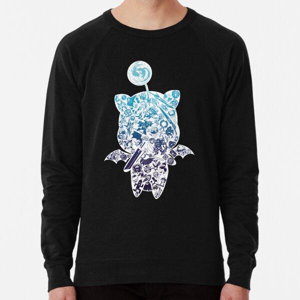 Moogle-verse (blue) Lightweight Sweatshirt