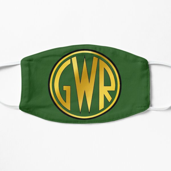 GWR Roundel or Shirt Button (1934- 1942) Flat Mask