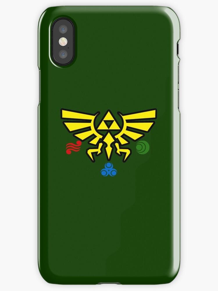 Legen Of Zelda Phone Case - Green by CutlineDesigns