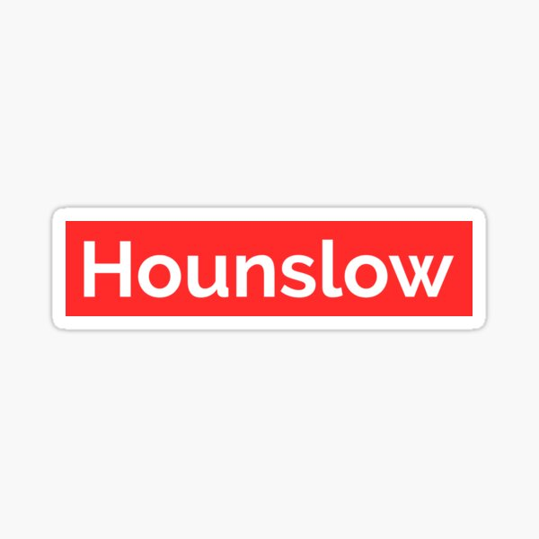 Hounslow London Borough Sticker