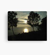 Lake Michigan Sunset Pt 2 Canvas Print