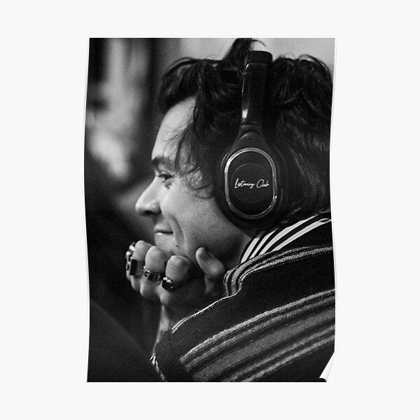 harry headphones Poster