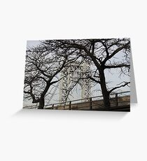 George Washington Bridge, 2014 Greeting Card