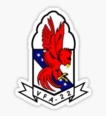VFA-22 Fighting Redcocks Sticker